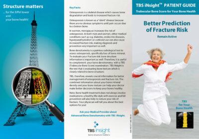 TBS iNsight - Patient flyer