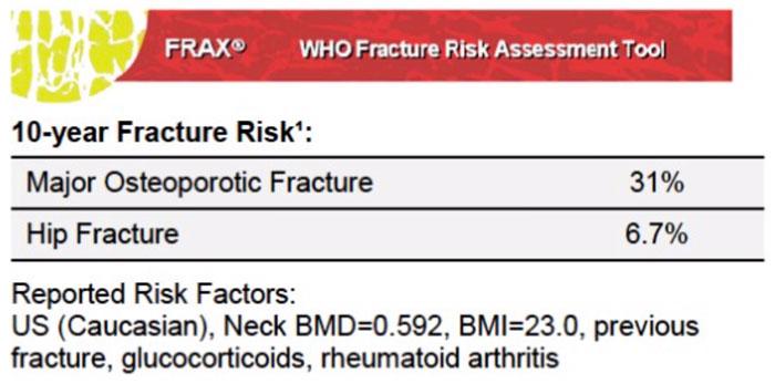 Medimaps - Case Study - FRAX 10-year