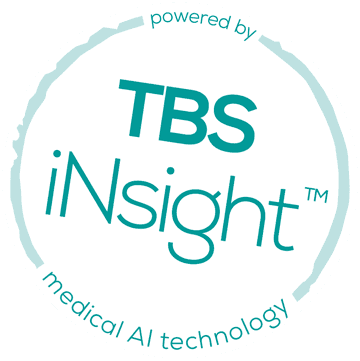 Powered by TBS iNsight - medical AI technology