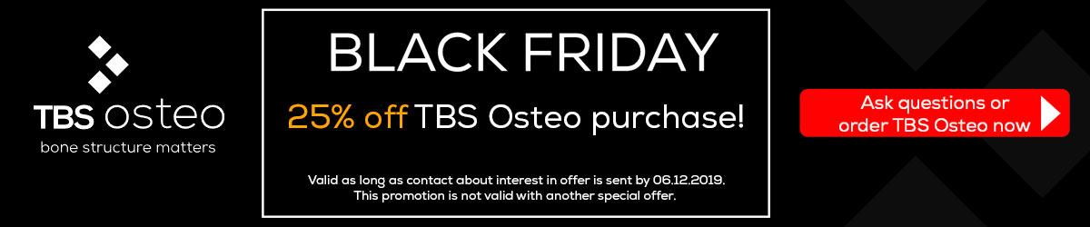 TBS Osteo - Black Friday offer