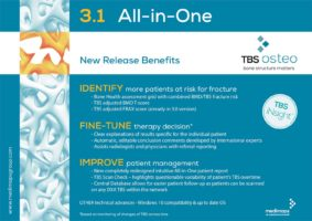 TBS Osteo 3.1 – new release benefits