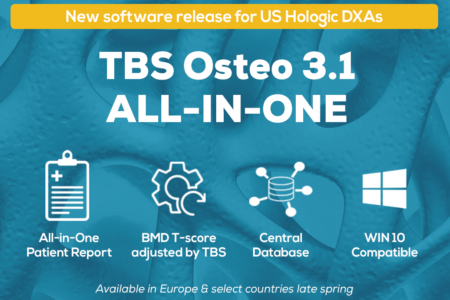 TBS Osteo DXA software - new release for better osteoporosis prediction