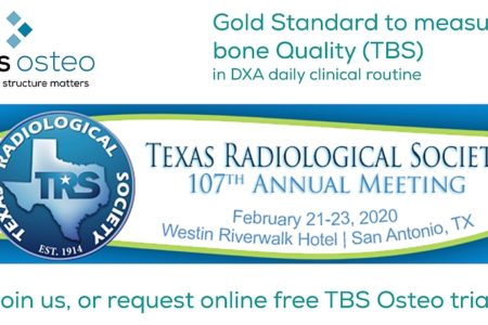 TBS Osteo for fracture prediction on Texas Radiology Congress