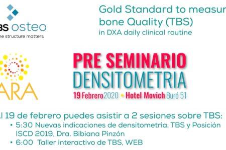 Medimaps with TBS Osteo at XXIII Seminario Internacional de Radiología
