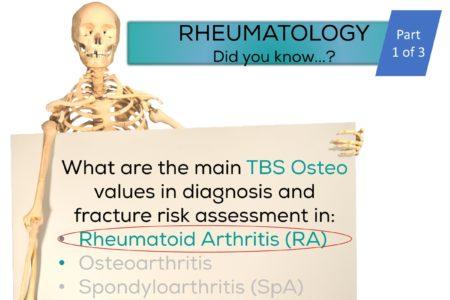 TBS in rheumatology - rheumatoid arthritis RA