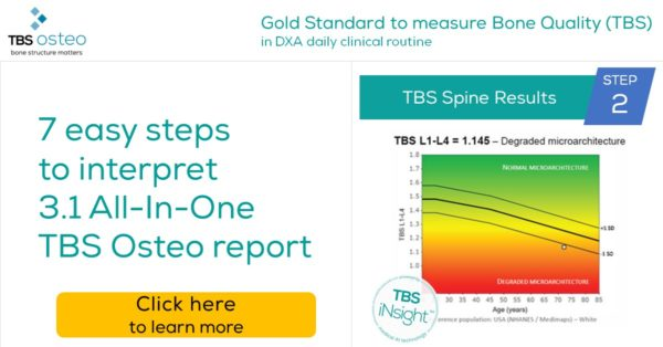Trabecular Bone Score (TBS) - Spine Results in Osteoporosis