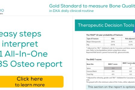 TBS Osteo report Step 4 – Therapeutic Decision Tools