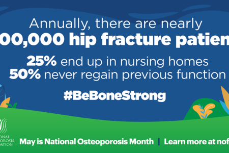 300,000 patients annually hospitalized for hip fractures