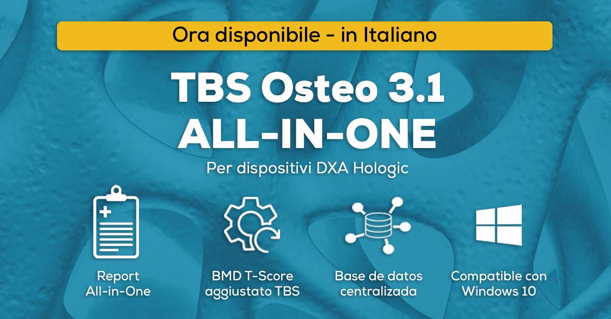 TBS-Osteo ora disponible in italian